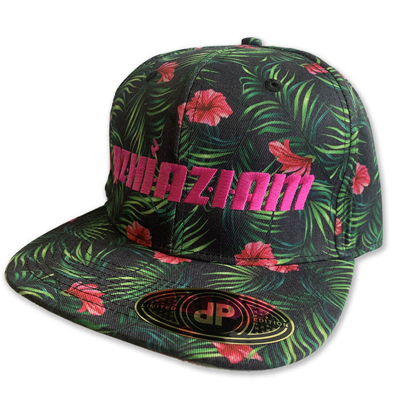 "Azhiaziam ""Hibiscus Jungle"" Hat - Azhiaziam"