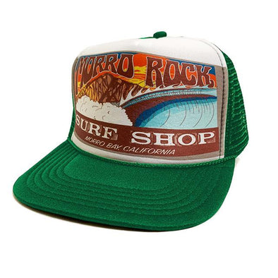 Morro Rock Surf Shop Trucker - Azhiaziam