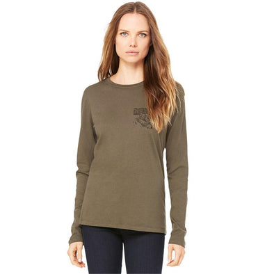 "Azhiaziam Women's ""Octopus"" Long Sleeve Tee - Azhiaziam"