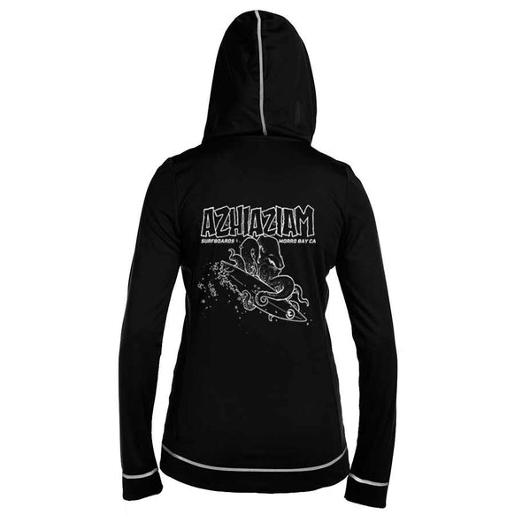 Octopus Lightweight Athletic Half Zip Hoodie - Azhiaziam