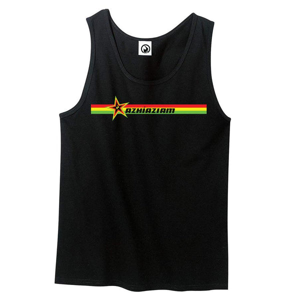 Rasta Stripes Men's Tank - Azhiaziam