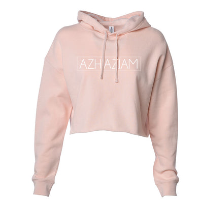"Azhiaziam ""Simple"" Lightweight Cropped Hoodie - Azhiaziam"