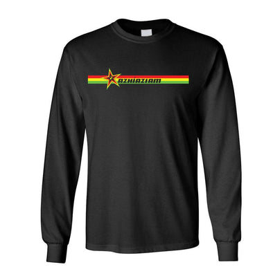 Azhiaziam Rasta Stripes Long Sleeve - Azhiaziam
