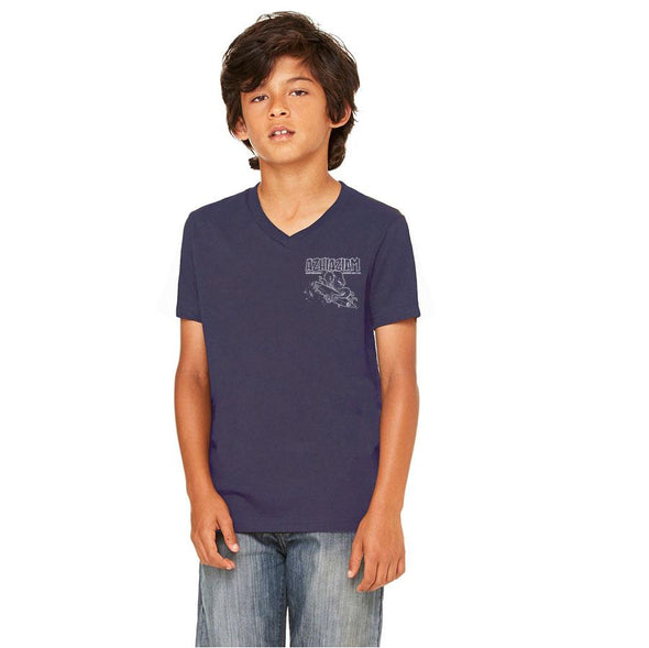 "Azhiaziam Youth ""Octopus"" V-Neck T-Shirt - Azhiaziam"