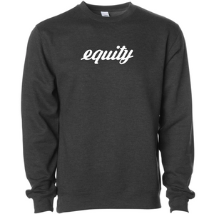 Signature Midweight Equity Crew - Charcoal Heather