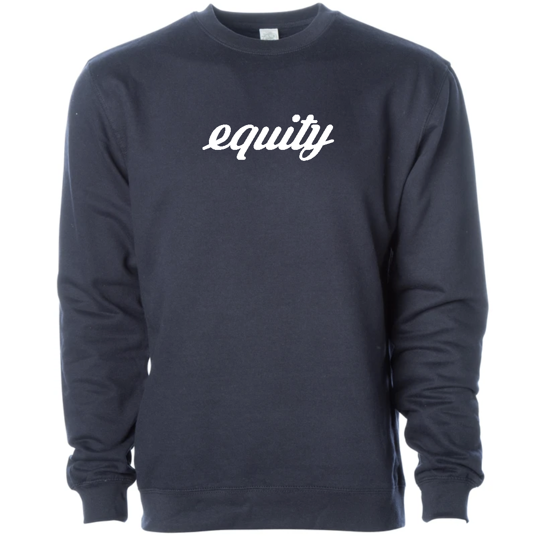 Signature Midweight Equity Crew - Navy