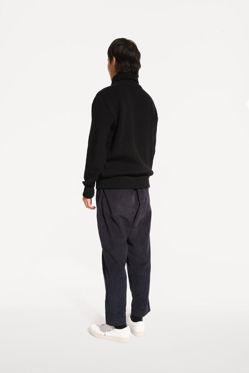 04 / Half-Zip Heavy Knit Jumper