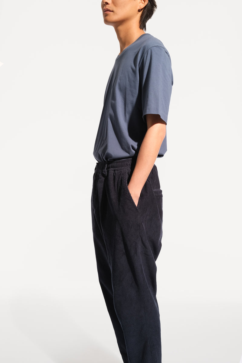 08 / Pleated Corduroy Trousers