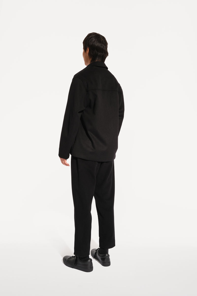08 / Pleated Cashmere Trousers