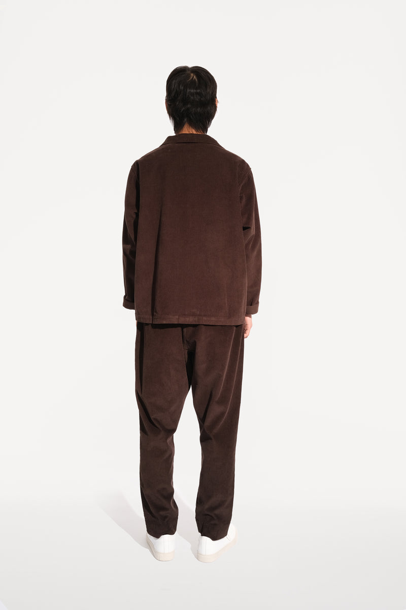 09 oftt  - corduroy jacket - brown - image 6