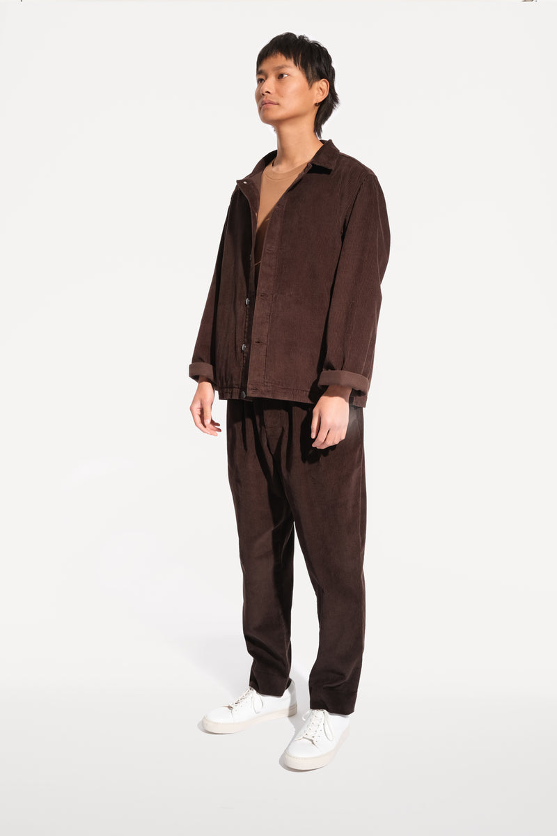 09 oftt  - corduroy jacket - brown - image 3