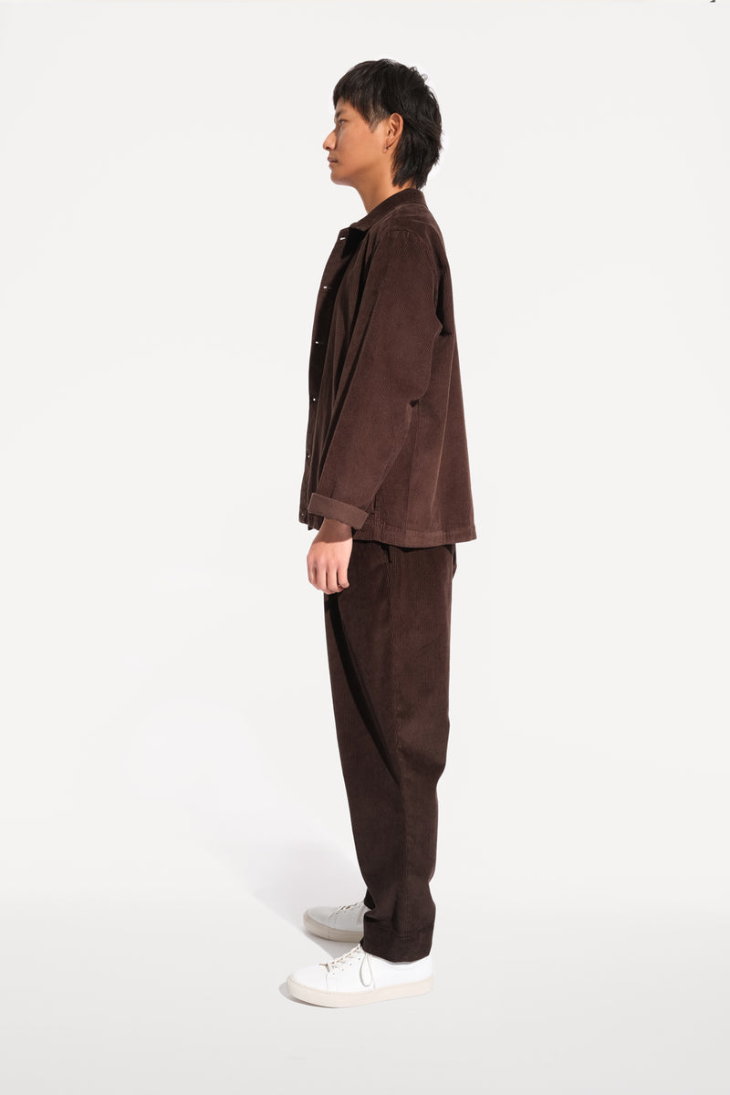 09 oftt  - corduroy jacket - brown - image 4