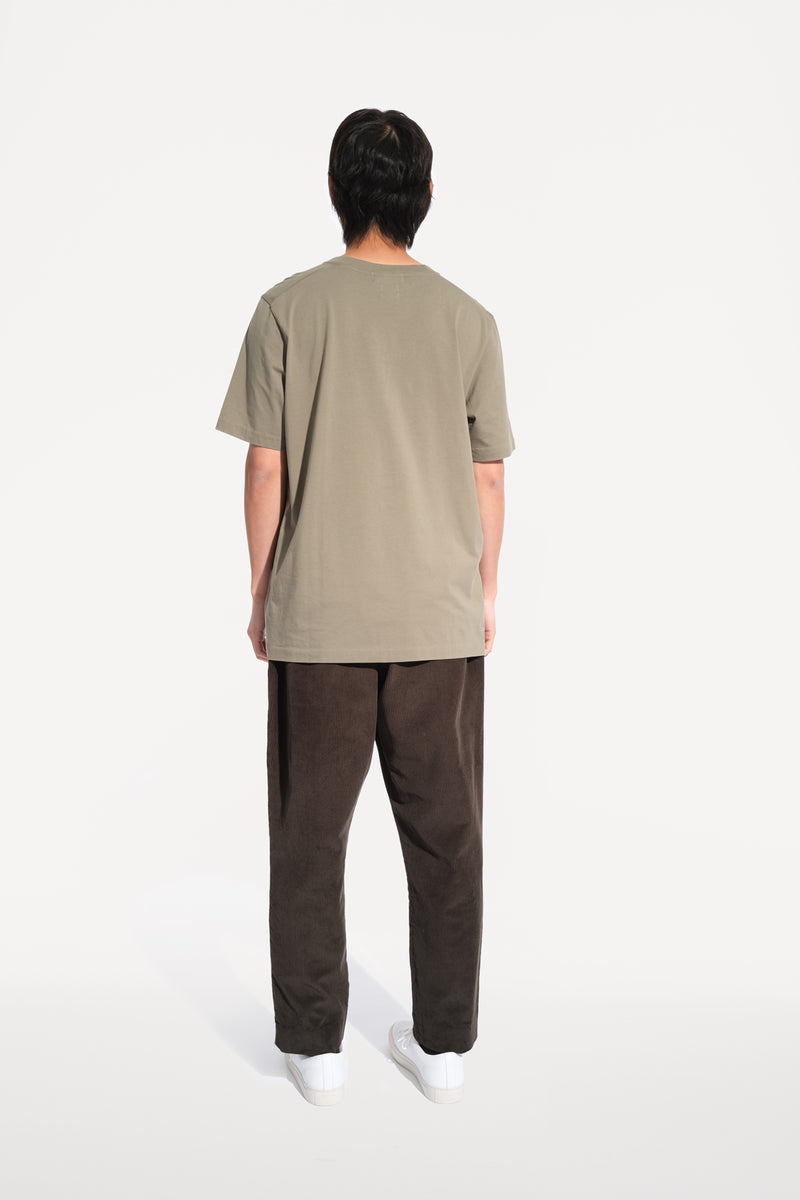 oftt - 01 - perfect fit t-shirt - sage - organic cotton - image 5