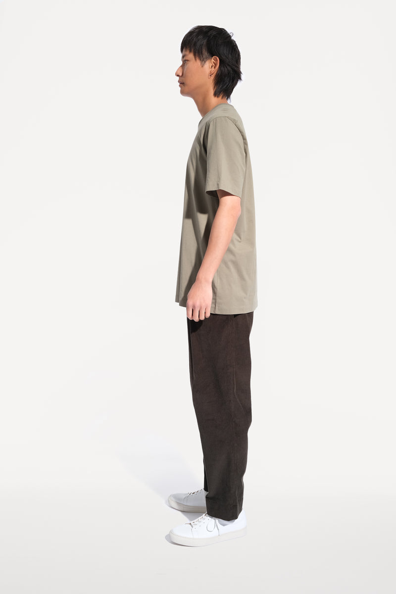 oftt - 01 - perfect fit t-shirt - sage - organic cotton - image 3