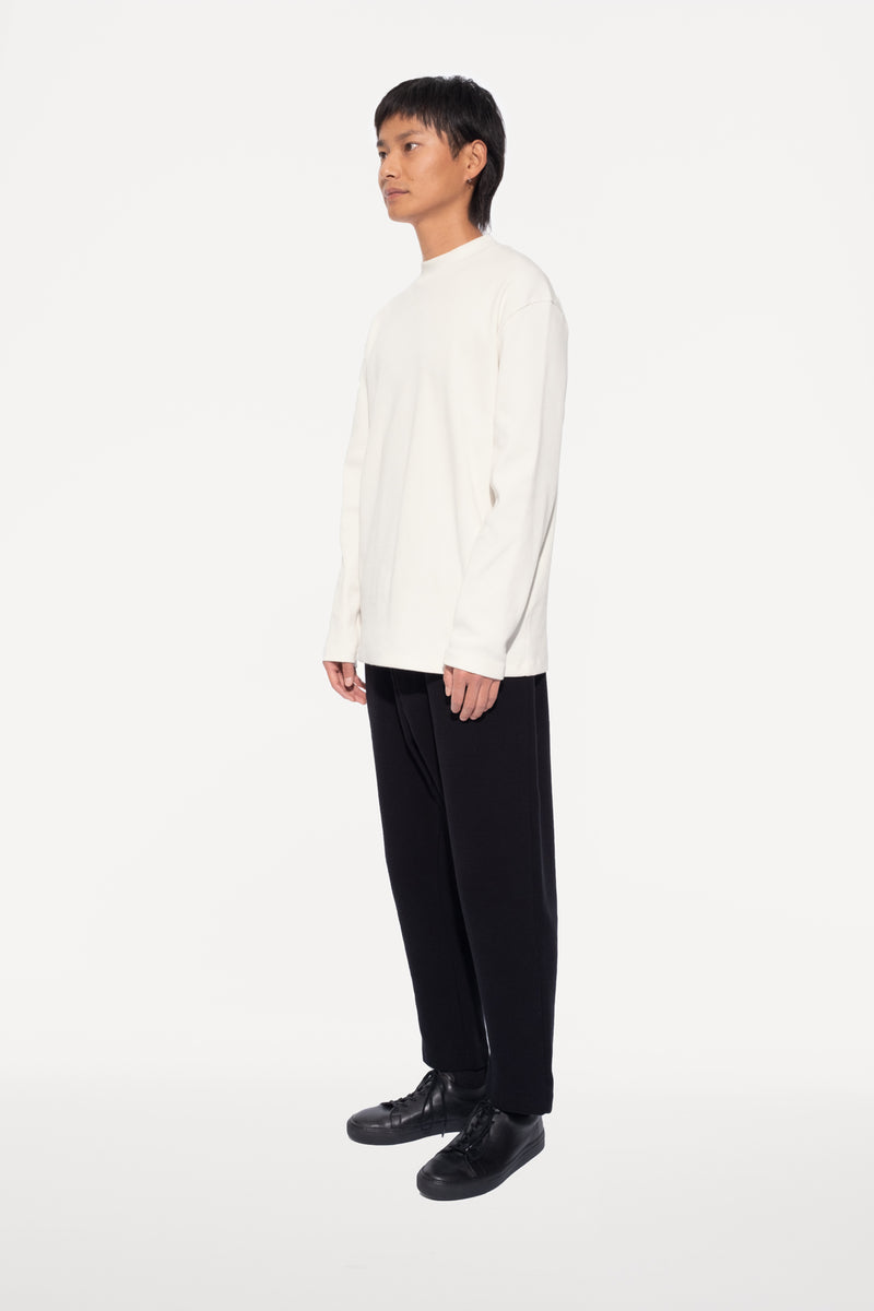 oftt - 04 - turtleneck - natural white - organic cotton - image 1