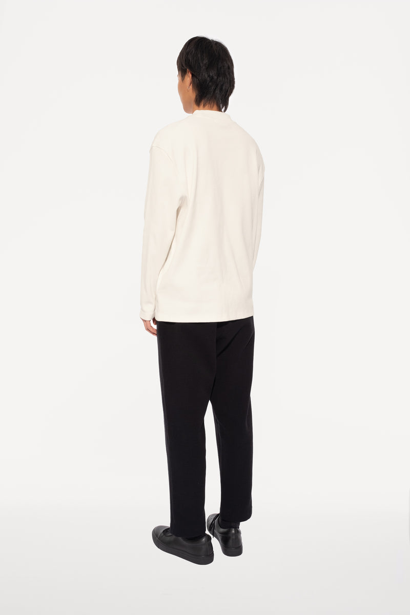oftt - 04 - turtleneck - natural white - organic cotton - image  5