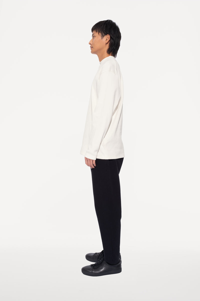 oftt - 04 - turtleneck - natural white - organic cotton - image  4