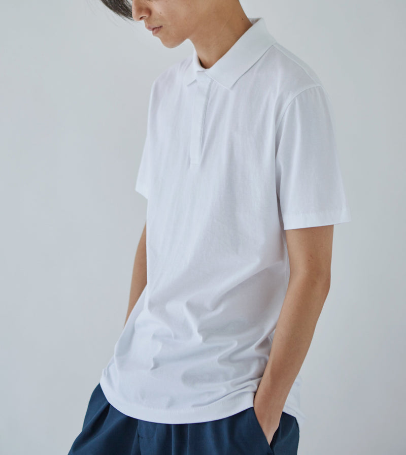 Oftt polo shirt White