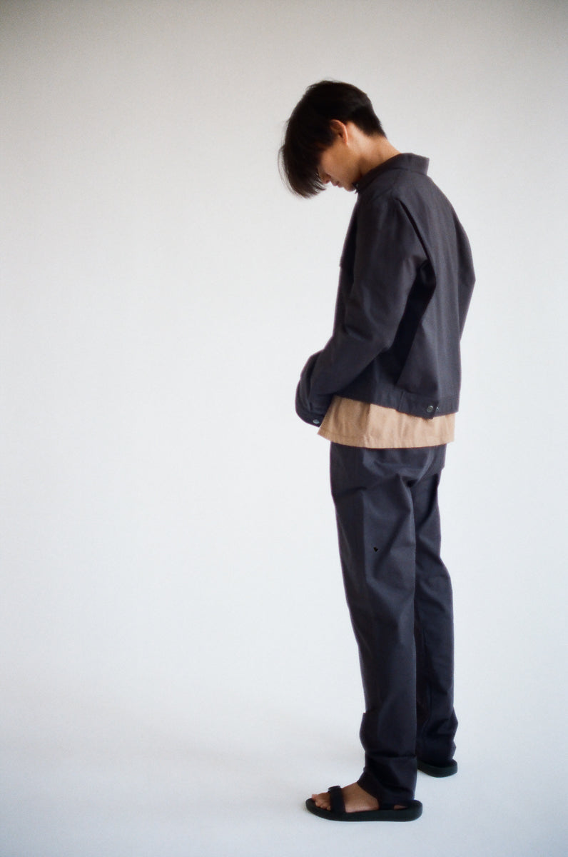 Oftt often berlin germany menswear sustainable organic eco Cropped blouson black