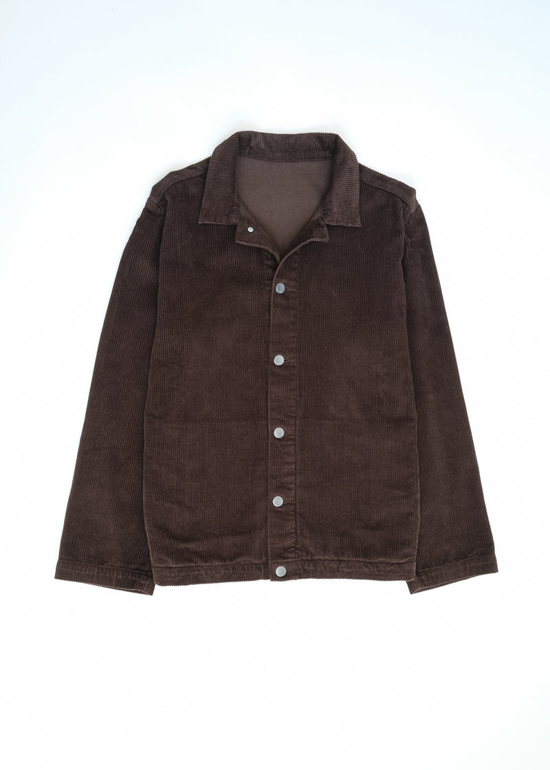 09 oftt  - corduroy jacket - brown - image 2