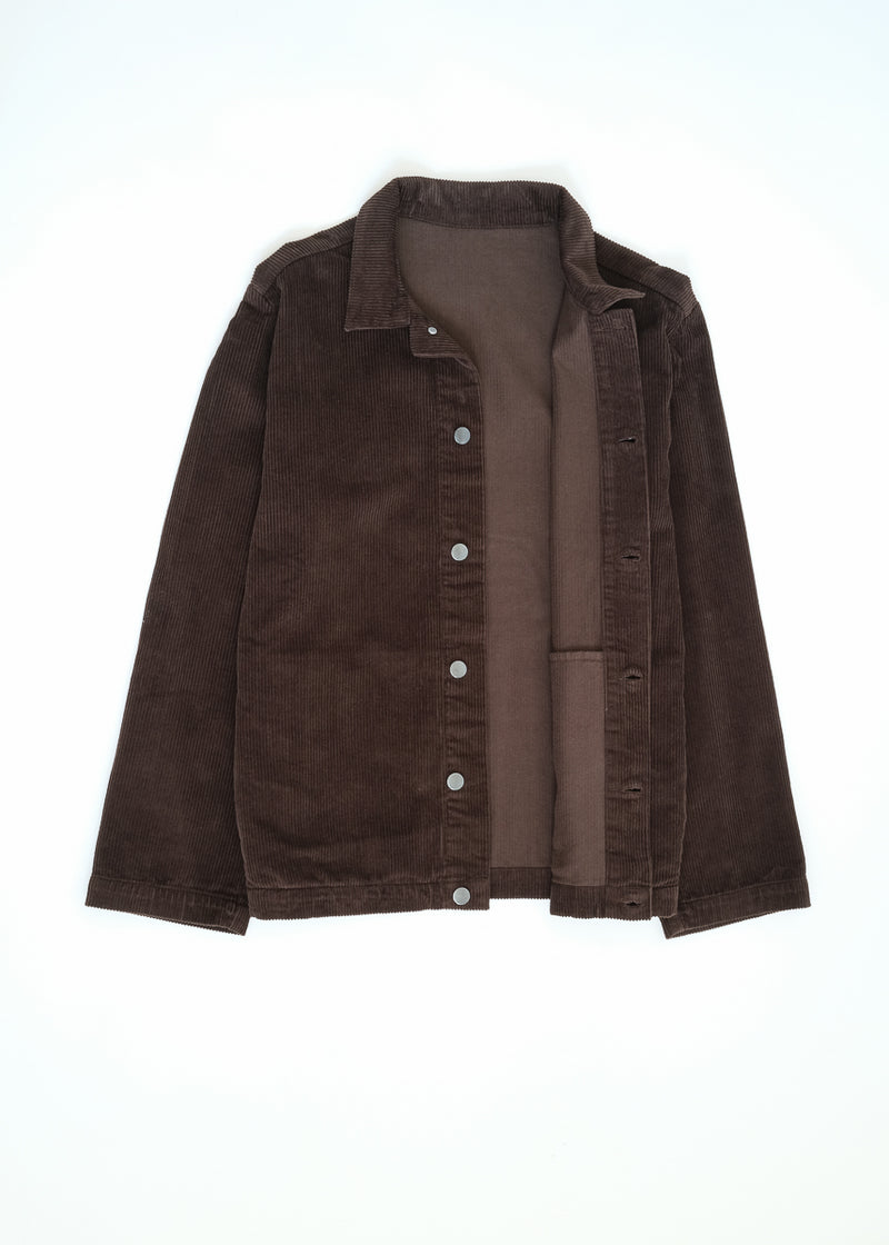 09 oftt  - corduroy jacket - brown - image 8
