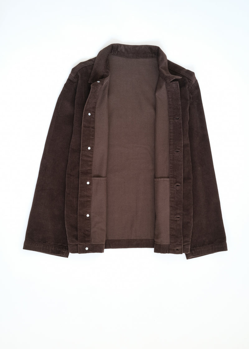 09 oftt  - corduroy jacket - brown - image 9