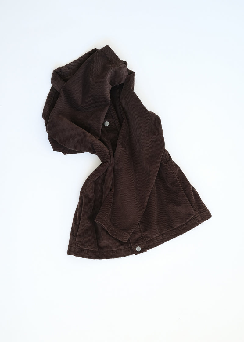 09 oftt  - corduroy jacket - brown - image 10