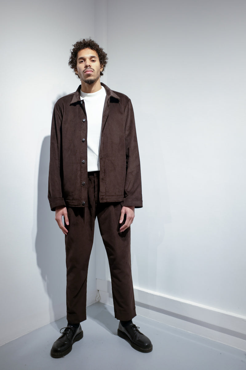 09 oftt  - corduroy jacket - brown - image 11