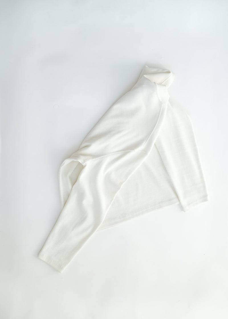 oftt - 04 - turtleneck - natural white - organic cotton - image  9