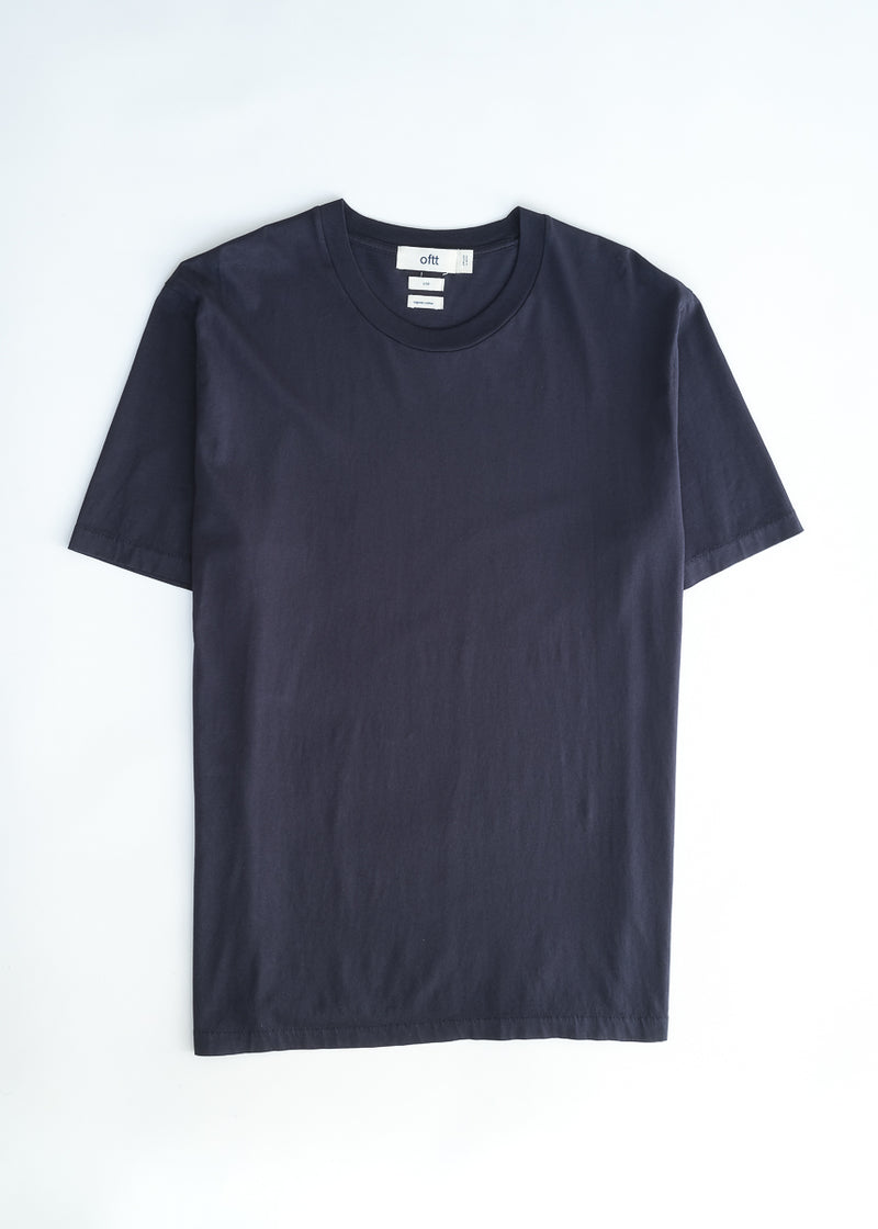 oftt - 01 - perfect fit t-shirt - navy - organic cotton - image 6