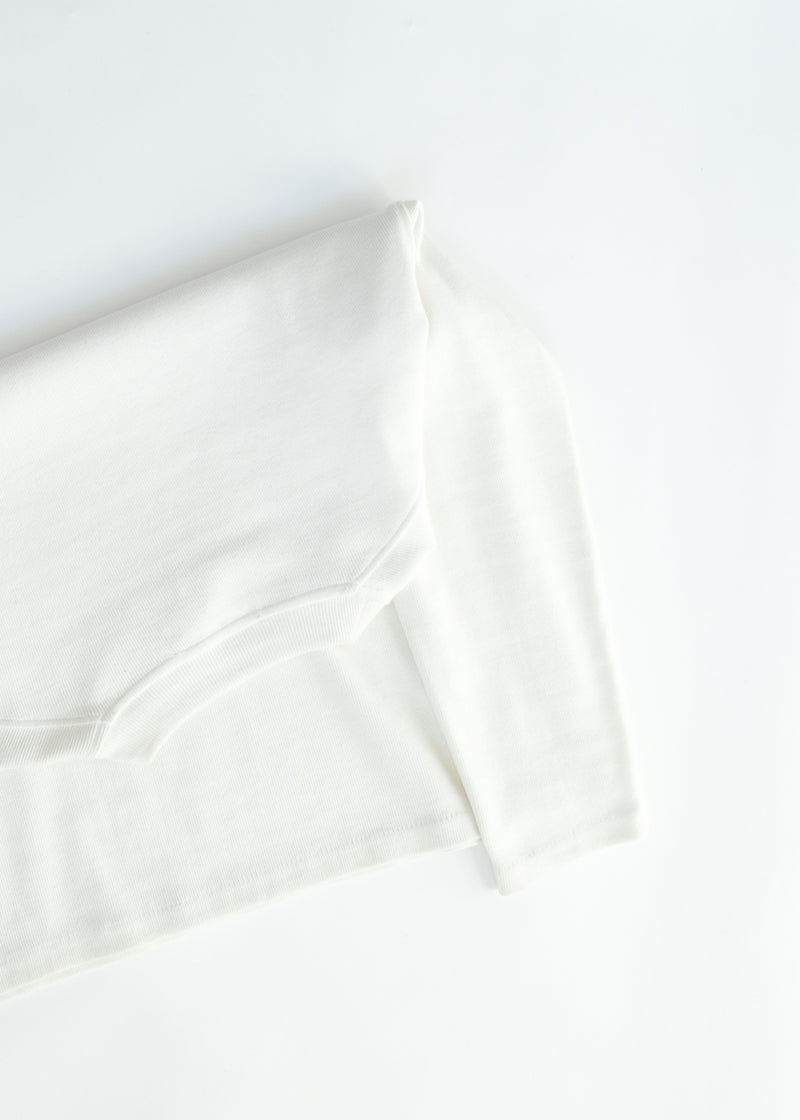 oftt - 04 - turtleneck - natural white - organic cotton - image  8