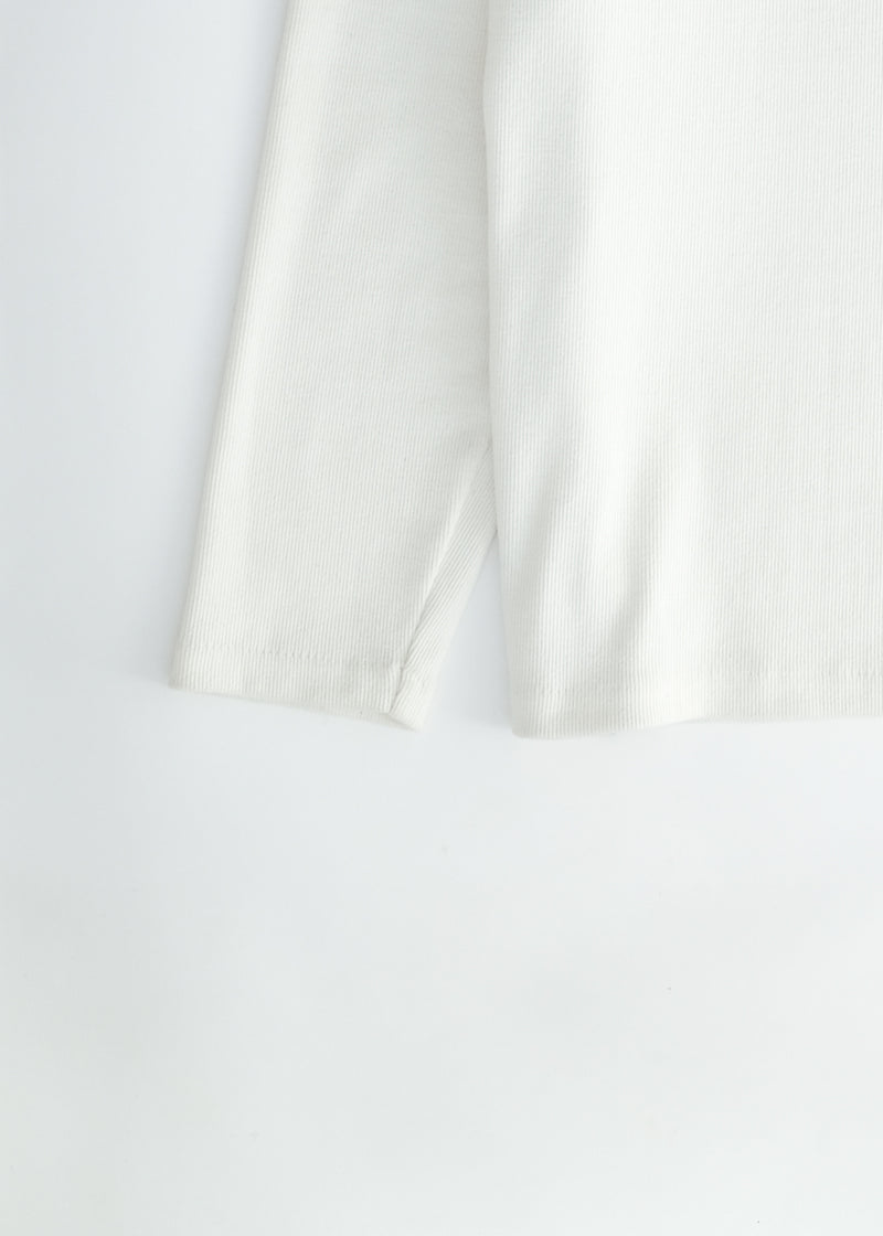 oftt - 04 - turtleneck - natural white - organic cotton - image  3