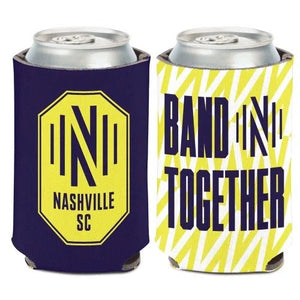 "NSC Slogan ""Band Together"" 12oz Can Cooler"