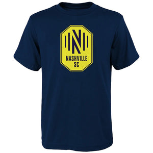 NSC Youth Fanatics Primary Logo SS Tee - Nvy