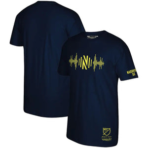 NSC Men's Mitchell & Ness Soundwave SS Tee - Nvy