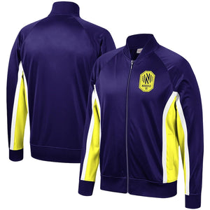 NSC Men's Mitchell & Ness Championship Game Raglan Full-Zip Track Jacket - Nvy