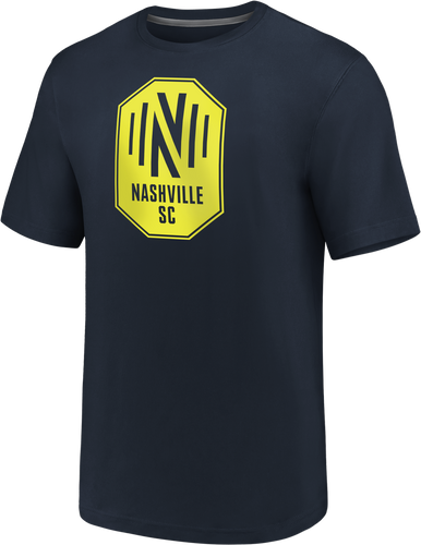 NSC Men's Fanatics Primary Logo SS Tee - Nvy
