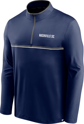 NSC Men's Fanatics Line Up 1/4 Zip Jacket - Nvy