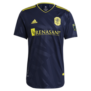 NSC Men's Adidas 2021 Nashville Vibe 2 Secondary Authentic Jersey - Nvy