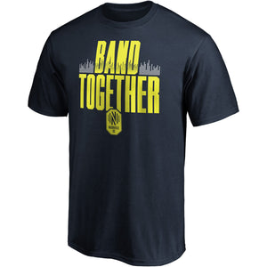 NSC Men's Fanatics Band Together SS Tee - Nvy