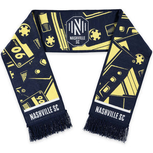 NSC Cassette Tapes Woven Scarf