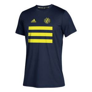 NSC Youth Adidas 2021 3SL Pitch Creator SS Tee - Nvy