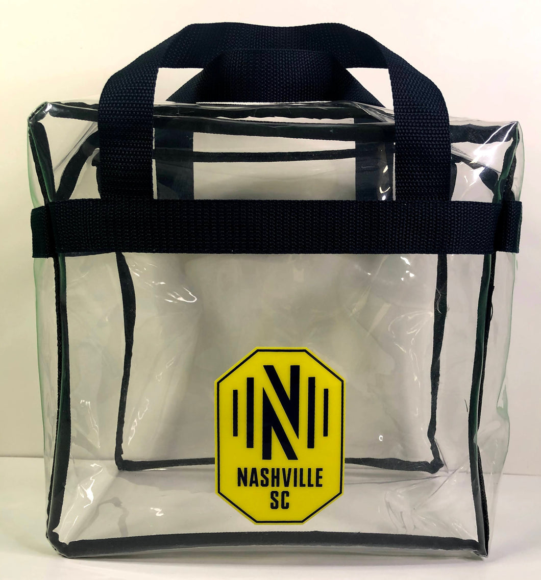NSC Clear Messenger Bag