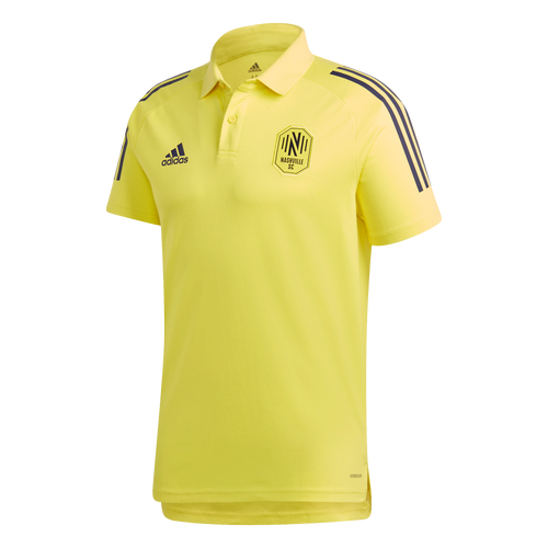 NSC Men's Adidas 2020 Coaches Polo - Ylw