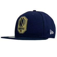 Load image into Gallery viewer, NSC Men's New Era Sharp 950 Snapback Hat - Nvy