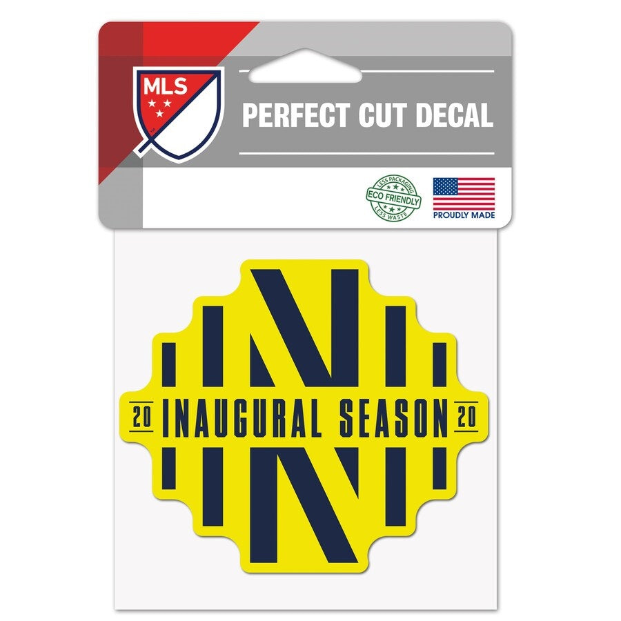 NSC Inaugural Season 4'' x 4'' Perfect Cut Decal