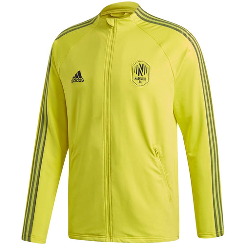 NSC Men's Adidas 2020 On-Field Anthem Full-Zip Jacket- Ylw