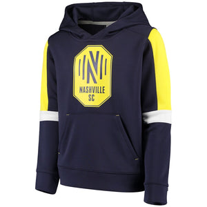 NSC Youth Fanatics Goalkeeper Pullover Hoodie - Nvy
