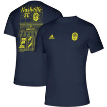 Load image into Gallery viewer, NSC Men's Adidas 2021 Quality Megs Creator SS Tee - Nvy