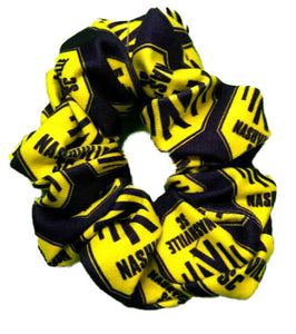 NSC Stacked Scrunchie - Nvy
